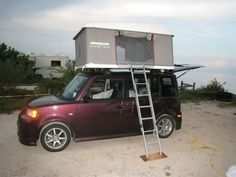 Crank up tent for scion xb  Can you say awesome!!!