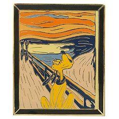 edvard munch the scream pluto disney Edvard Munch, Famous Artwork, Disney Art, Art, Funny Art, Art Parody, Famous Art, Pop Art, Altered Art