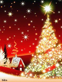 Download Animated 240x320 «Новогодняя» Cell Phone Wallpaper. Category: Holidays