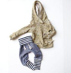 trademark childHOODS solid raglan hoodie // handmade baby/toddler // custom order size and color