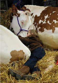 love the country life, this was me when I was little. I guess that's why I love animals so much*