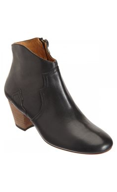 Isabel Marant The Dicker Letter Ankle Boots Bronze - Isabel Marant