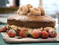 Peanut Butter Doughnut Cake