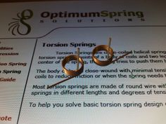 Torsion Spring