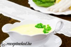 Hollandi mártás Pesto, Pudding, Ethnic Recipes, Desserts, Food, Tailgate Desserts, Deserts, Custard Pudding, Essen