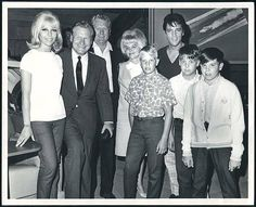 Elvis visited by Vernon, Dee, Stanley boys all met Nelson Rockefeller, NY' governor, while he was at the MGM studio