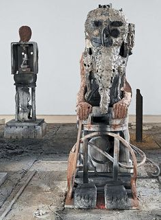 Pakistani-born sculptor Huma Bhabha