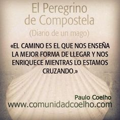 El viaje de 'El Peregrino de Compostela', en http://www.comunidadcoelho.com | http://www.planetadelibros.com/l-119663