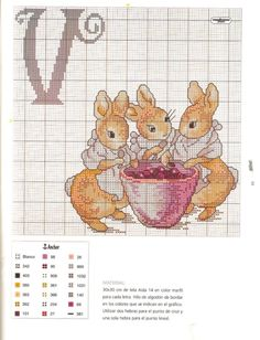 Beatrix Potter ABCs  V  Gallery.ru / Фото #12 - 16 - KIM-3