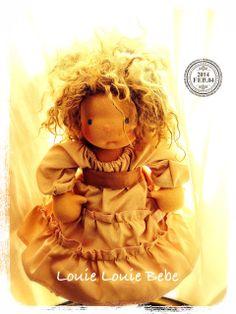 Miss Henrietta- 17 inch Louie Louie Bebe Waldorf doll