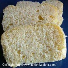 Dukanov chlebík za 4 minúty (od našej čitateľky Elenky) - a Low Carb Recipes, Healthy Recipes, Healthy Food, I Foods, Vanilla Cake, Food And Drink, Bread, Cheese, Desserts