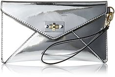 MG Collection Mirror Envelope Wristlet Purse, Silver, One Size MG Collection http://www.amazon.com/dp/B012ASQVZM/ref=cm_sw_r_pi_dp_QdX3wb0QNC4EG