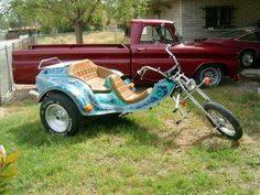 I like the Trike & the Pickup !