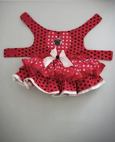 Artículos similares a Red Dog valentines dress (Red),Minie en Etsy Cute Dog Clothes, Small Dog Clothes, Animal Clothes, Dog Toilet, Dog Clothes Patterns, Dog Harness, Dog Leash, Red Dog, Dog Sweaters
