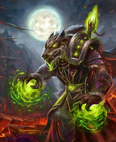 Awesome World of Warcraft Worgen By Eric Braddock via deviantART World Of Warcraft, Warcraft Art, Fantasy World, Dark Fantasy, Fantasy Creatures, Mythical Creatures, Death Knight, Werewolf Art, Vampires And Werewolves
