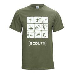 Camp Shirt Idea Amazon.com: Scout Shops Ltd Adult Scout Section Tshirt: Clothing