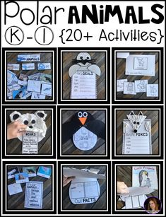 Are you looking for a factual unit to introduce polar animals in your kindergarten and first grade classroom? Our polar animal unit is just what you need! It has over 20 sorting, comprehension, writing and opinion printables and activities.