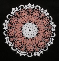 Crochet Round Doily | Flickr – Compartilhamento de fotos!