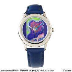 dotcookstar 腕時計 子供向け 気さくなプリンセス リストウオッチ