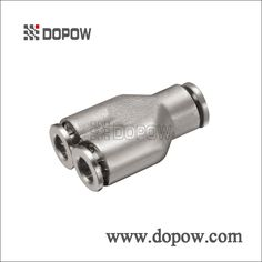 CAPY Full Nickel Plated Union Y Brass Pneumatic Fittings