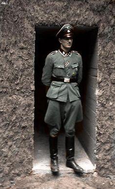 SS Oberscharfführer Rochus Misch Hitler's personal bodyguard in the Führerhauptquartier
