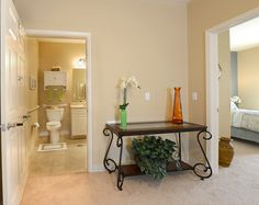 Senior Living 2 Bedroom Model Unit Of Our Apartments In Hanson, MA, At