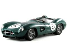 Santas Tools and Toys Workshop: Hobby: Shelby Collectibles Scale 1:18 - 1959 Aston Martin DBR1 #5 Driven by Carroll Shelby
