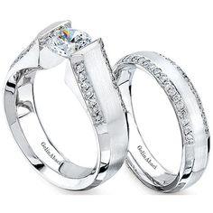 Bridal Set by http://www.engagediamonds.com/