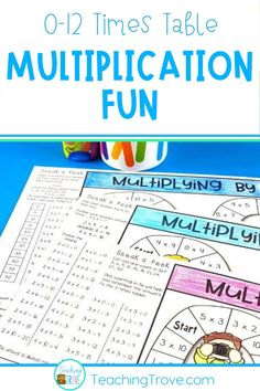 Multiplication strategy games are perfect for giving your students the extra practice they need to learn mental math strategies for multiplication. Ideal for building fact fluency with the multiplication facts, each game addresses a single mental math strategy for the 0 – 12 times tables.