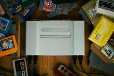 The Aluminum Nintendo NES Console http://www.mediator.io/