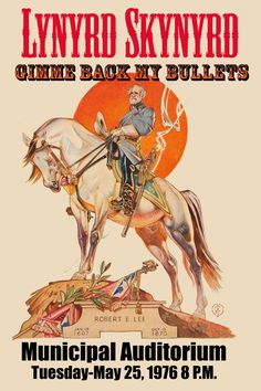 Lynyrd Skynyrd Concert Poster artwork.