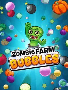Zombie Farm Bubbles on Behance