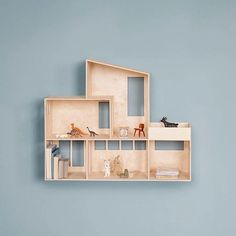 Buy Funkis Doll House from ferm LIVING. Let your child's imagination soar with ferm LIVING's reinterpretation of a classic Funkis House, beautifully cra. Wooden Dollhouse, Diy Dollhouse, Homemade Dollhouse, Dollhouse Interiors, Dollhouse Tutorials, Plywood House, Plywood Table, Ikea, Home Decor