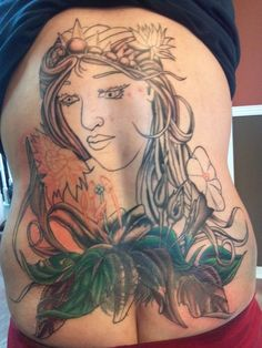 cover up back tattoo session #3 | My Style | Pinterest