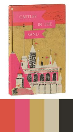 Color Study, castles in the sand book cover, 49