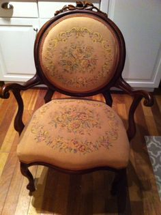How to Re-upholster an Antique Chair [Tutorial-Part 1] | Picklee