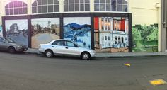 Newtown mural, Wellington, New Zealand