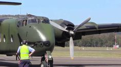 Historical Air Restoration Society Caribou startup, taxiing and takeoff on Sunday 13 Sept 2015 from the Illawarra Regional AIrport Museum. Taxi, Fighter Jets, Aviation, Aircraft, Museum, Videos, Planes, Museums, Airplane