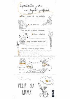 Imprimible gratis día de la madre // Free printable mother's day gift