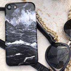 Back to work  Black Marble Case for iPhone 7 & iPhone 7 Plus from Elemental Cases