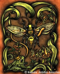 'Frog Prince and Wasp'