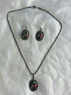 Gemstones jewelry set
