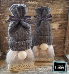 Gnome for the Holidays — Denver Chalks Christmas Wood, Christmas Projects, Christmas Knomes, Gnome Tutorial, Craft Day, Gnomes, Holiday Crafts, Creations, Christmas Decorations