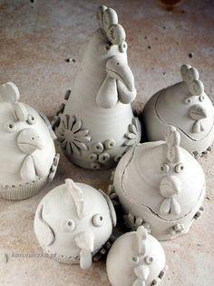 Koroneczka - frywolitki i ceramika: Marsz do pieca!