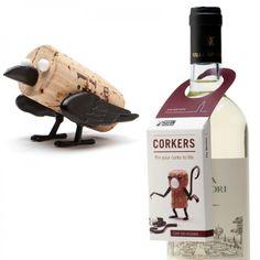 Korktierchen Corkers The Crow - Monkey Business #cork #animal