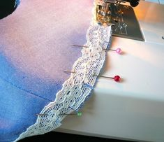 How to make a Peter Pan collar. How To Add A Lace Trim To A Peter Pan Collar - Step 6