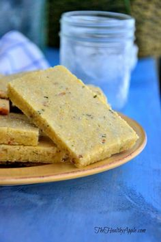A pinch of herbes de province could be an easy way to get that lavender in Healthy Dinner Recipes, Healthy Snacks, Snack Recipes, Cooking Recipes, Healthy Sides, Vegan Recipes Videos, Free Recipes, Gluten Free Crackers, Almond Flour Recipes
