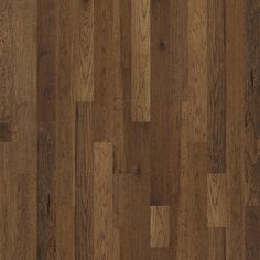 """Dreaming of all new Hardwood flooring? Its time to make it happen! Hardwood in style """"Chimney Rock"""" - color Trail - solid hickory - Flooring by Shaw Hardwood Floor Colors, Clean Hardwood Floors, Walnut Floors, Hickory Flooring, Plank Flooring, Laminate Flooring, Shaw Hardwood, Flooring Store, Luxury Vinyl Flooring"""