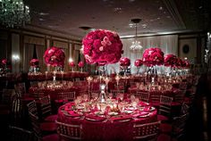 Beautiful setup for a wedding reception!