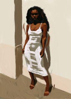 Black Girl Art, Art Girl, Art Hoe, Black Artwork, Funky Art, A Level Art, Afro Art, Black Artists, Dope Art